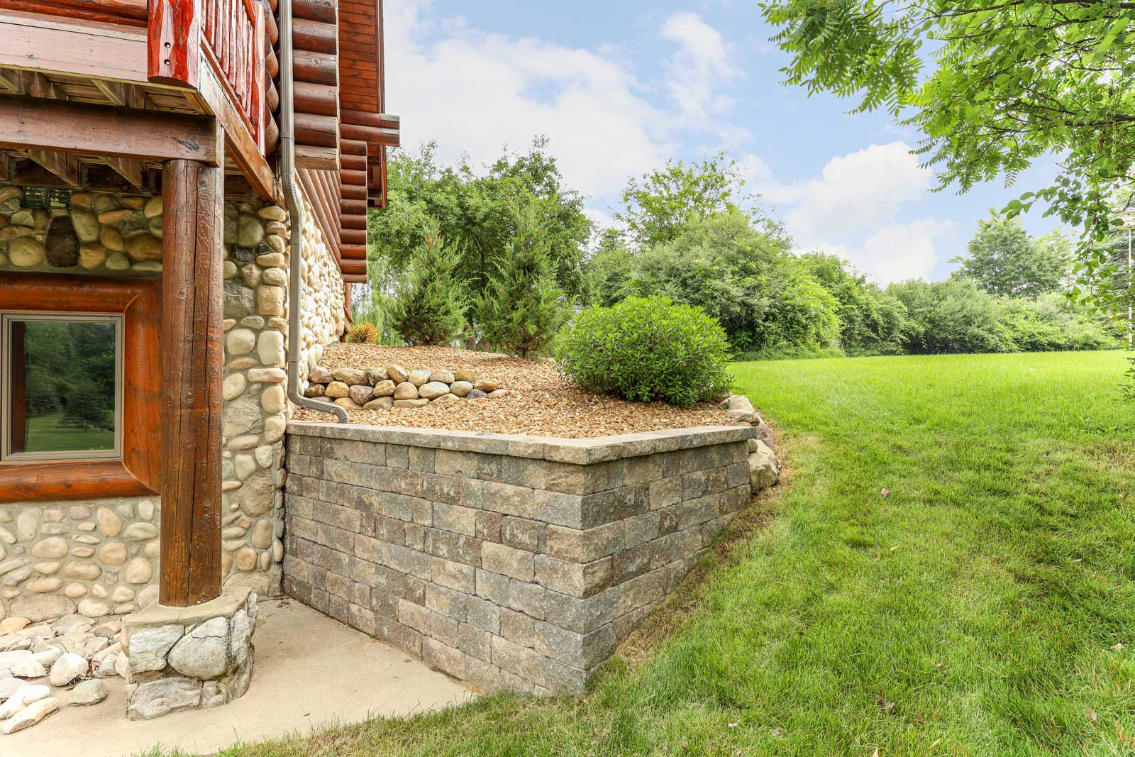 Retaining Wall in Howell