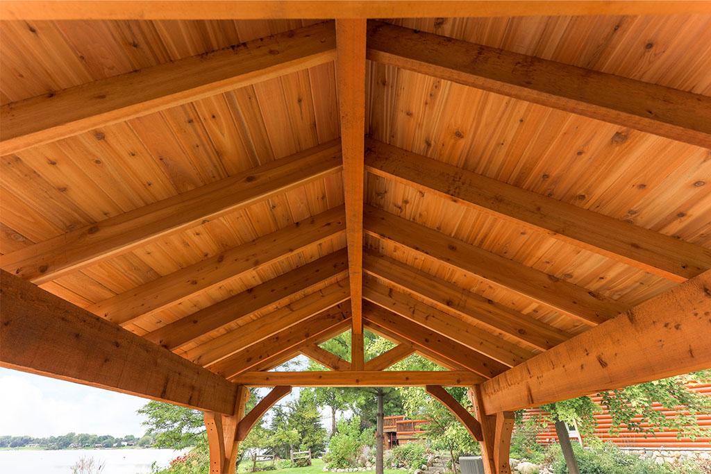 Cedar Pergola in Hartland