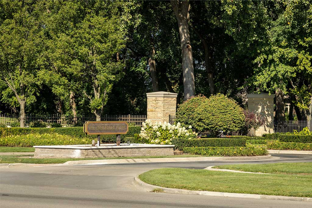 Stunning Community Entrance in Dearborn